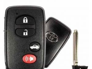 2009-2014 Toyota Camry Avalon Corolla / 4-Button Smart Key / PN: 89904-06131 / HYQ14AEM (GNE Board 6601) (OEM)
