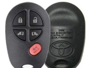 2004-2017 Toyota Sienna / 5-Button Keyless Entry Remote / PN: 89742-AE030 / GQ43VT20T