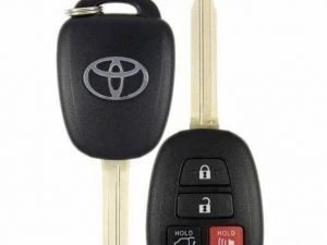 2013-2019 Toyota Rav4 Highlander Sequoia / 4-Button Remote Head Key / GQ4-52T (H-Chip)